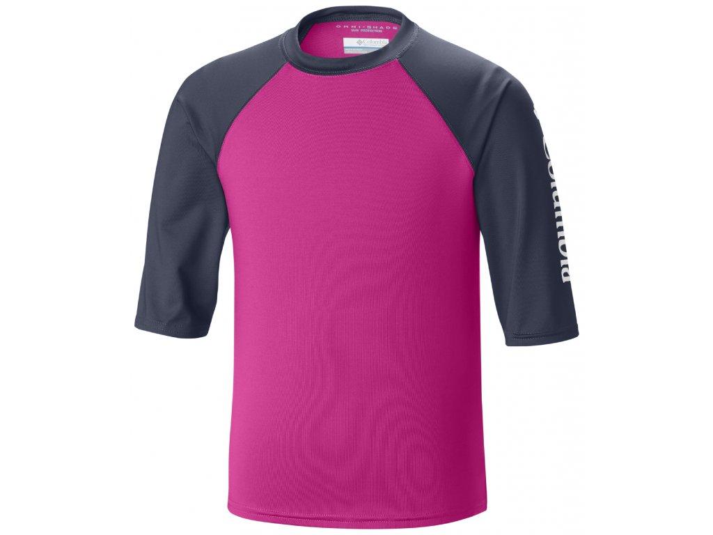 Dětské tričko Columbia MINI BREAKER™ II 627 - Haute pink Růžová