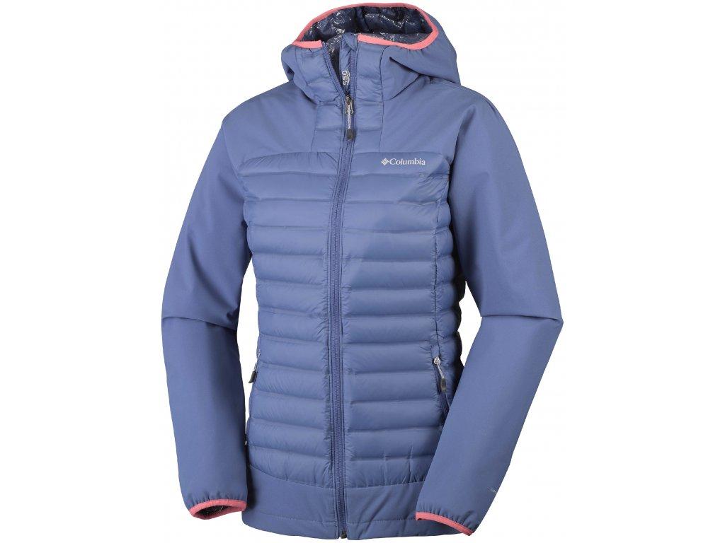 Dámská zimní bunda Columbia Dutch Hollow ™ Hybrid Jacket 508 Bluebell fialová