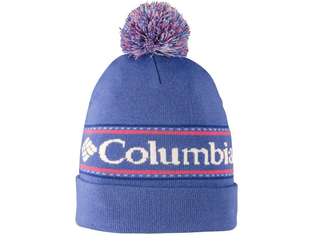 Čepice Columbia CSC ™ Logo Beanie 508 Bluebell modrá