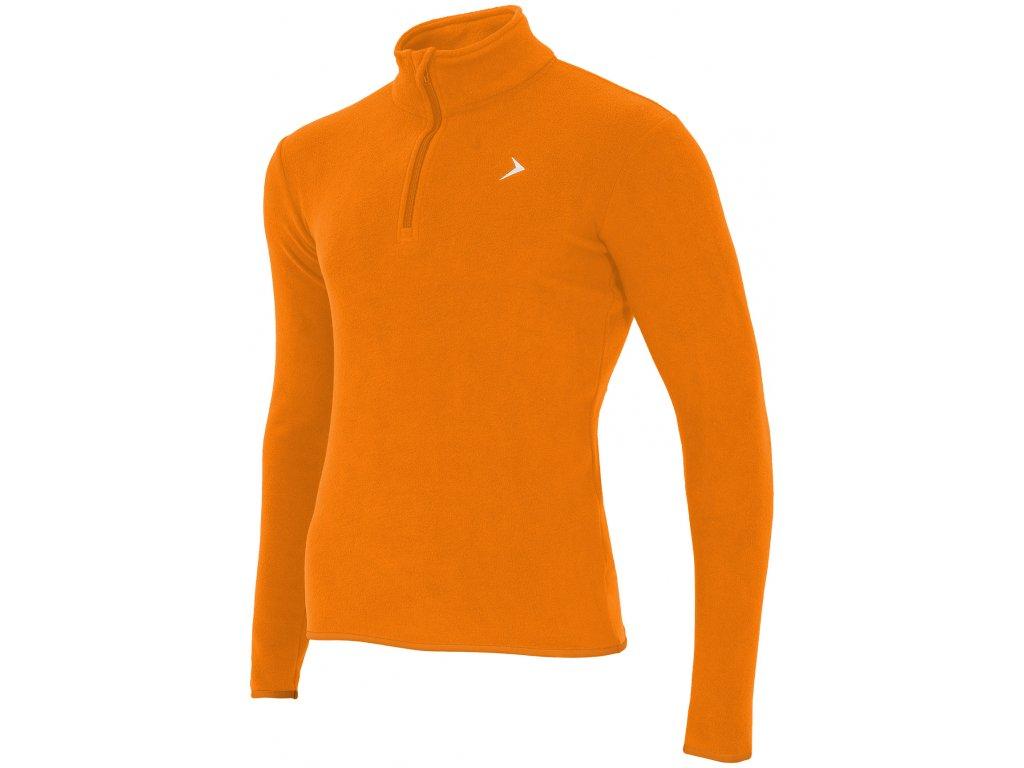 Pánská mikina Outhorn BIMP600 NEON ORANGE oranžová