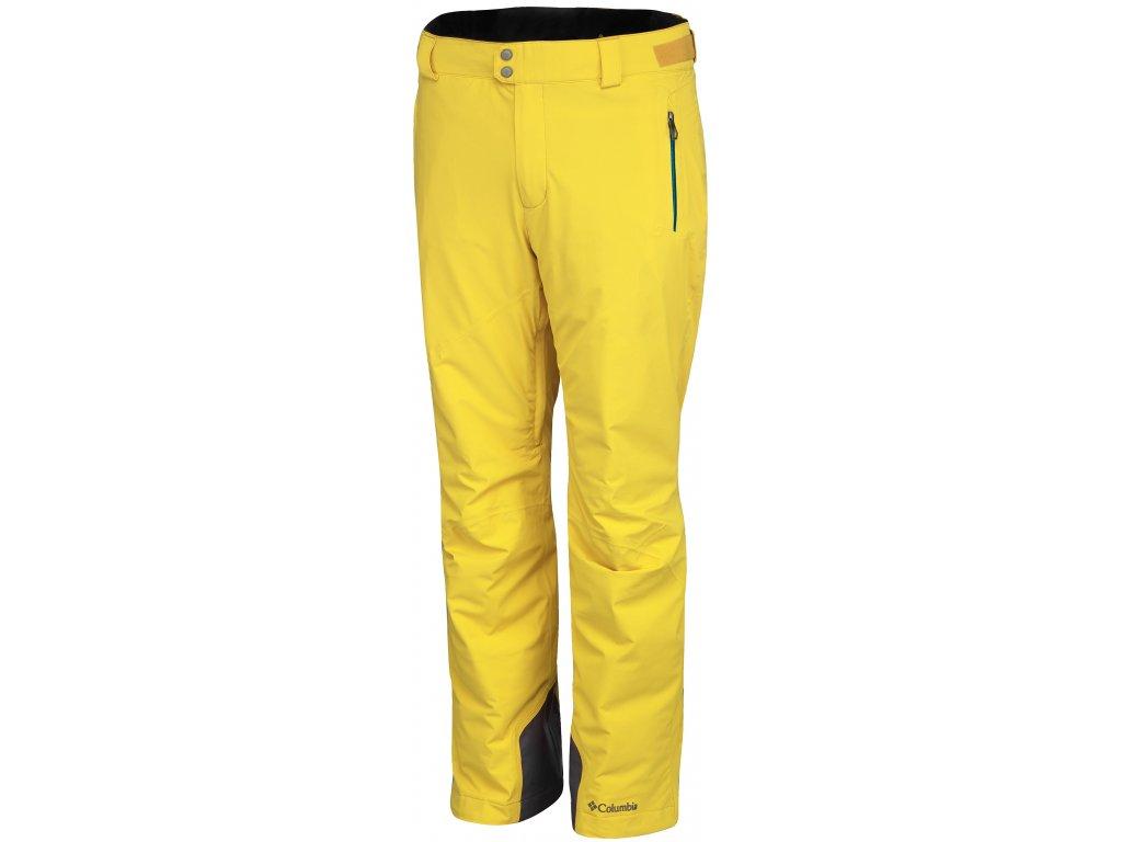 Pánské lyžařské kalhoty Columbia Millennium Blur ™ Pant 719 Mineral Yellow žlutá