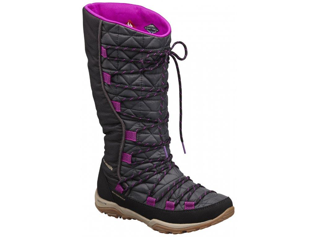 Dámské zimní boty Columbia LOVELAND ™ OMNI-HEAT ™ 011 - black černá