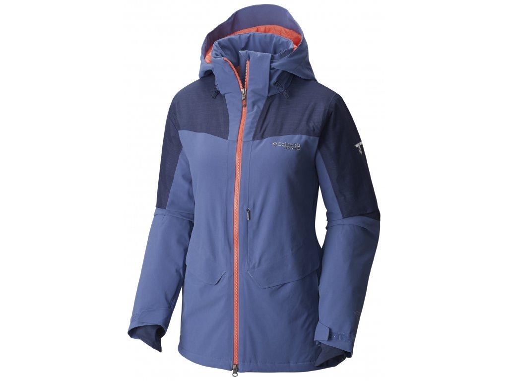Dámská zimní bunda Columbia Carvin ™ Jacket 508 modrá