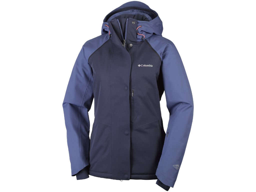 Dámská zimní bunda Columbia Mile Summit ™ Jacket 508 modrá