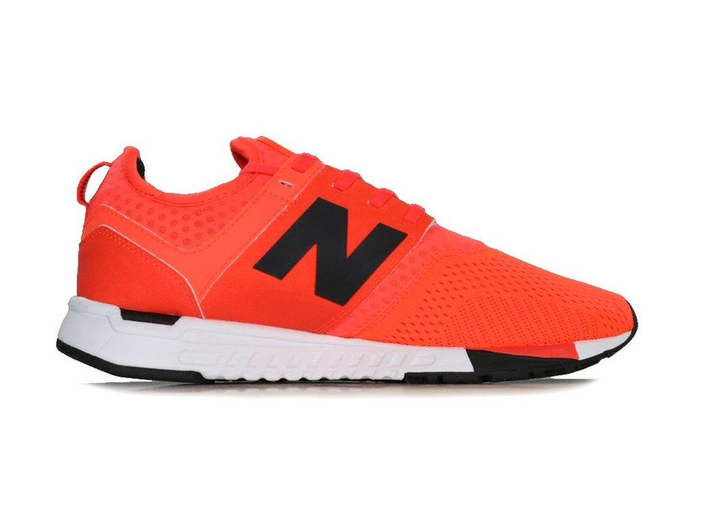 Pánská lifestylová obuv New Balance MRL247 OR oranžová