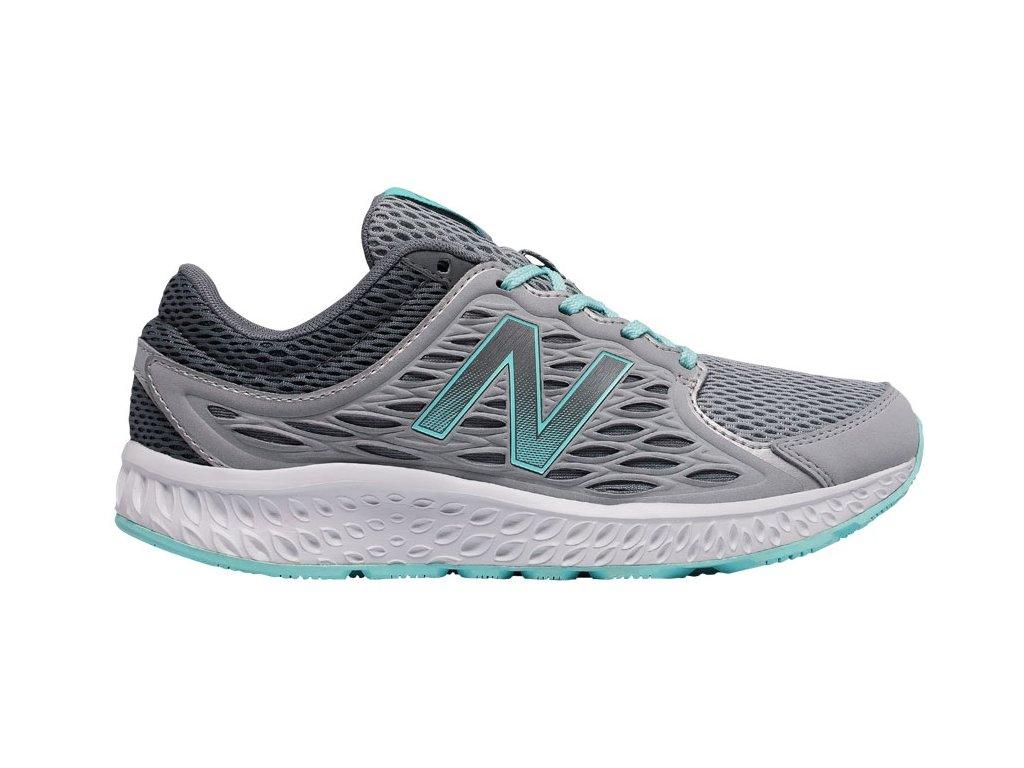 Dámské běžecké boty New Balance W420 LS3 šedá