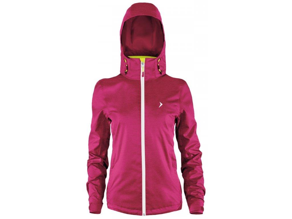 Dámská bunda Outhorn KUDT603 Fuchsia Růžová
