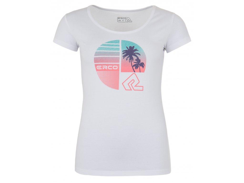 Dámské tričko ERCO HOLLIDAY-L WHT bílá