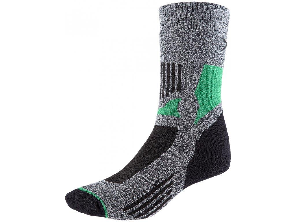 Ponožky Outhorn SOUT600 Mid grey mel. šedá