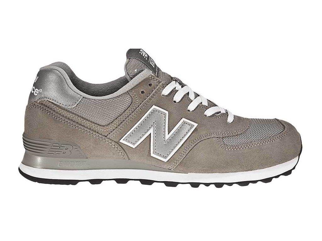 Pánská lifestylová obuv New Balance M574 GS béžová