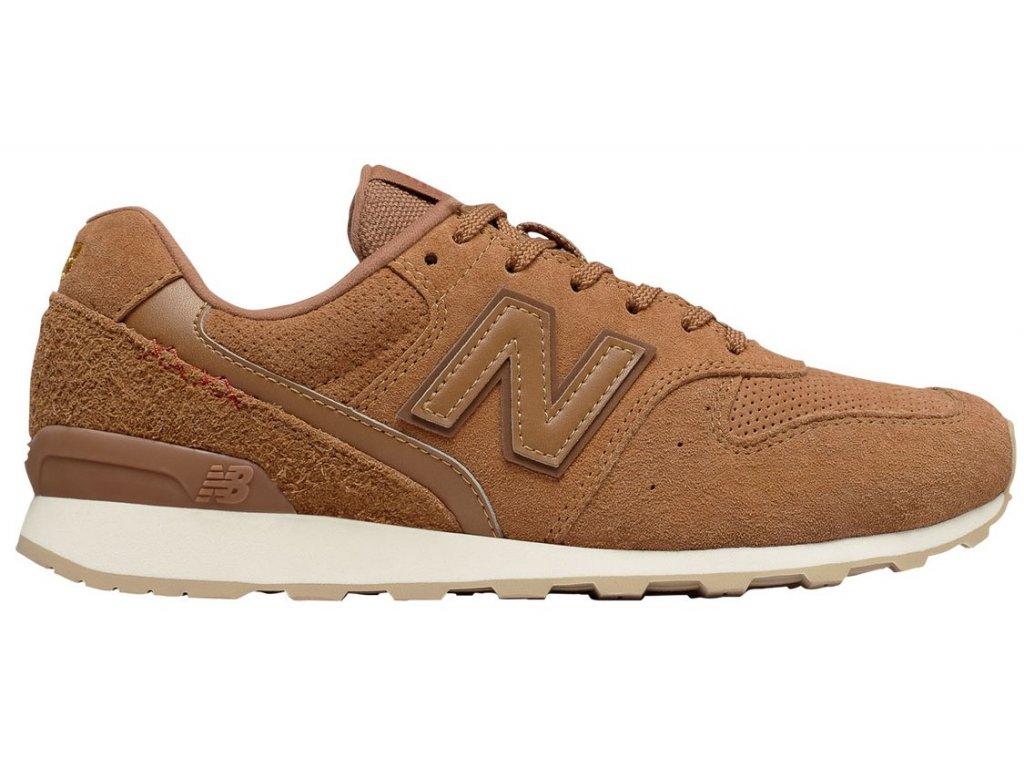 Dámská lifestylová obuv New Balance WR996 BB hnědá