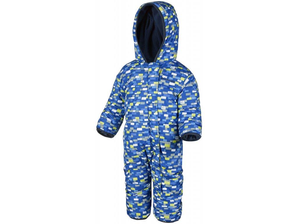 Dětská zimní kombinéza Columbia Snuggly Bunny Bunting 441 modrá