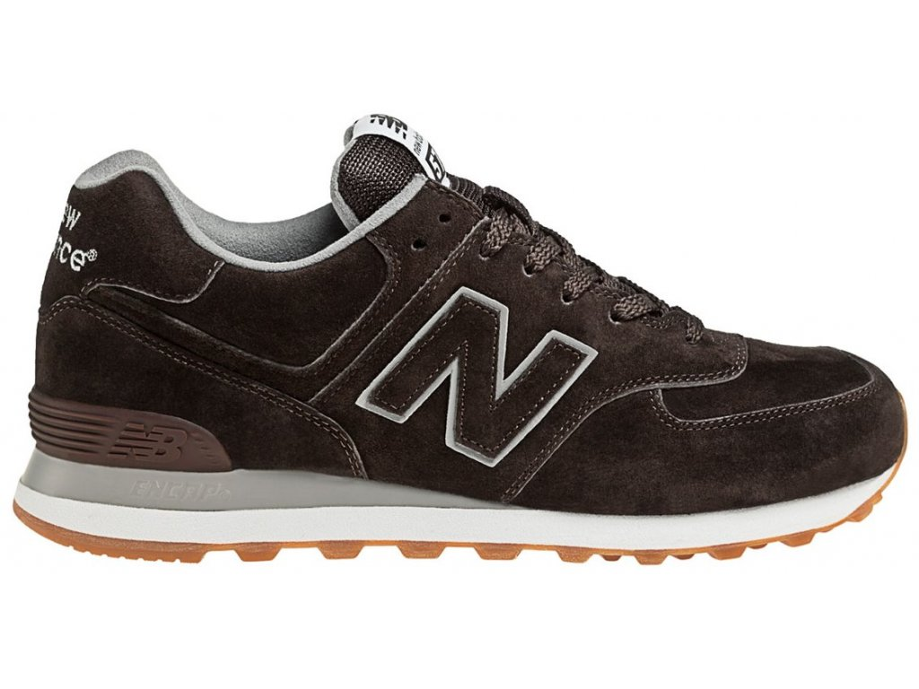 Pánská lifestylová obuv New Balance ML574 FSB hnědá
