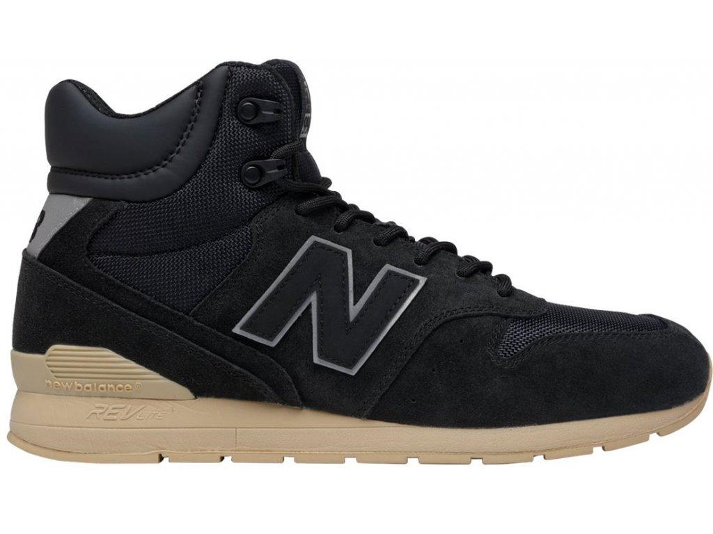 Pánská lifestylová obuv New Balance MRH996 BT černá