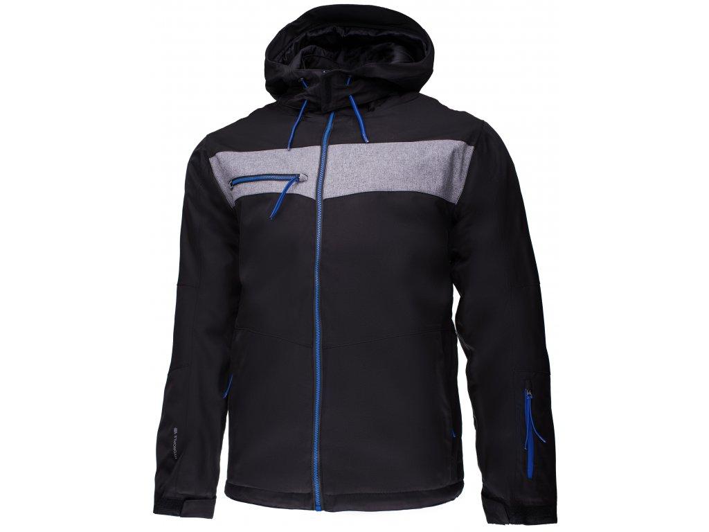 Pánská lyžařská bunda Outhorn KUMN606 Black černá