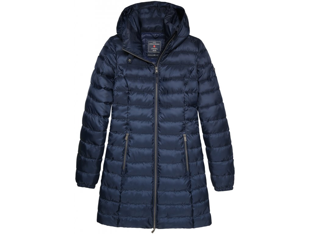 Dámský kabát Volcano J-Glory 600 modrá