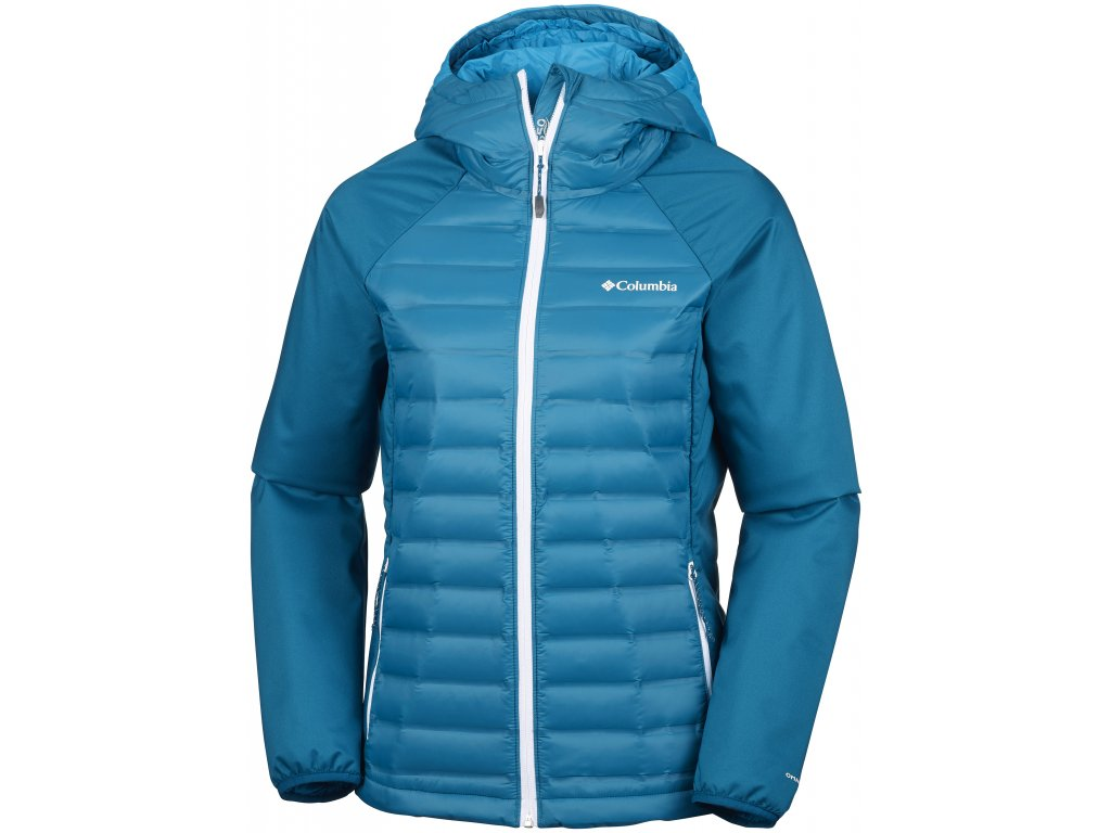 Dámská bunda Columbia Mountain Hike™ Hybrid Jacket 498 modrá