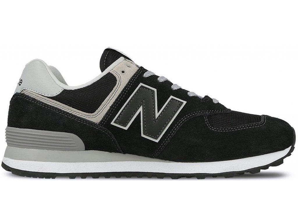 Pánská lifestylová obuv New Balance ML574 EGK černá