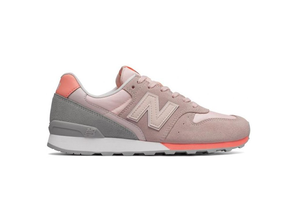 Dámská lifestylová obuv New Balance WR996 STG, růžová