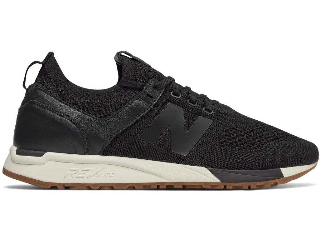 Pánská lifestylová obuv New Balance MRL247 DB černá