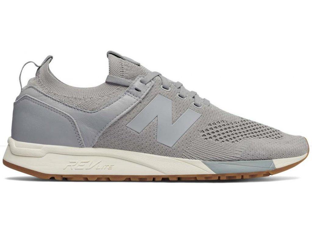 Pánská lifestylová obuv New Balance MRL247 DS šedá