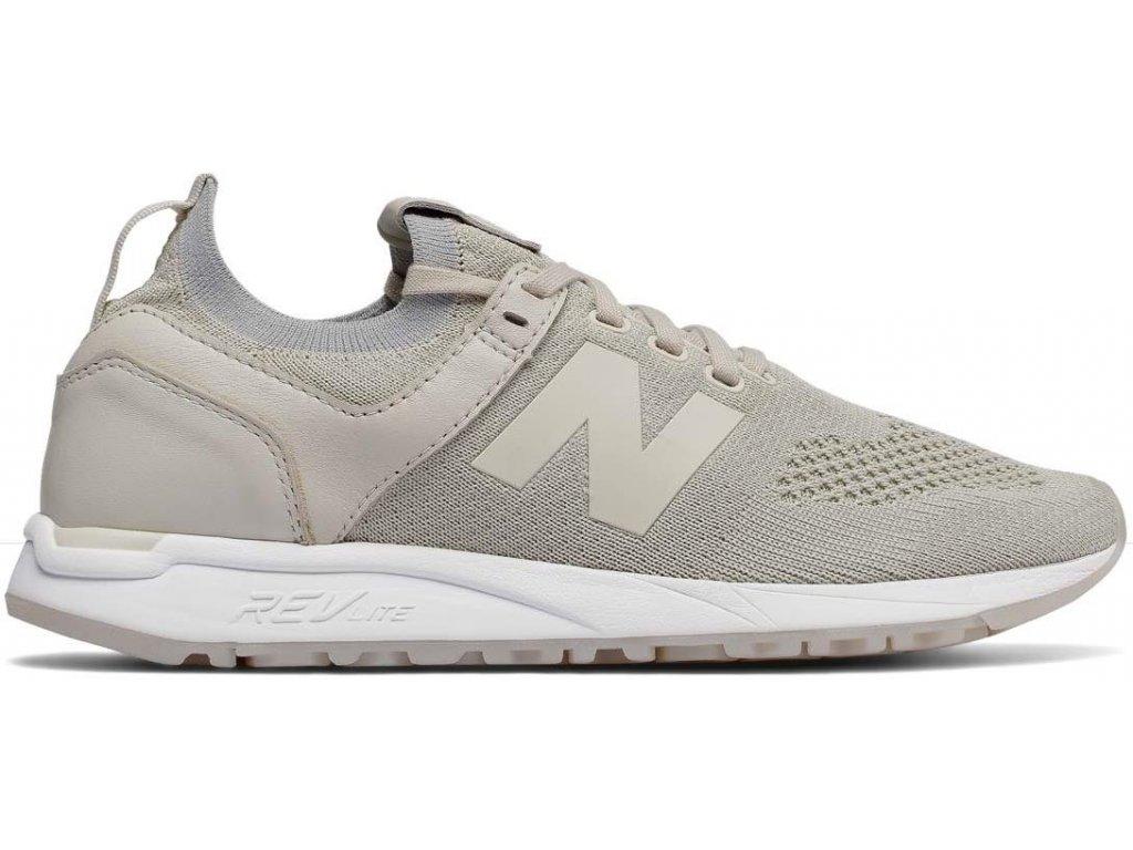 Dámská lifestylová obuv New Balance WRL247 SV šedá