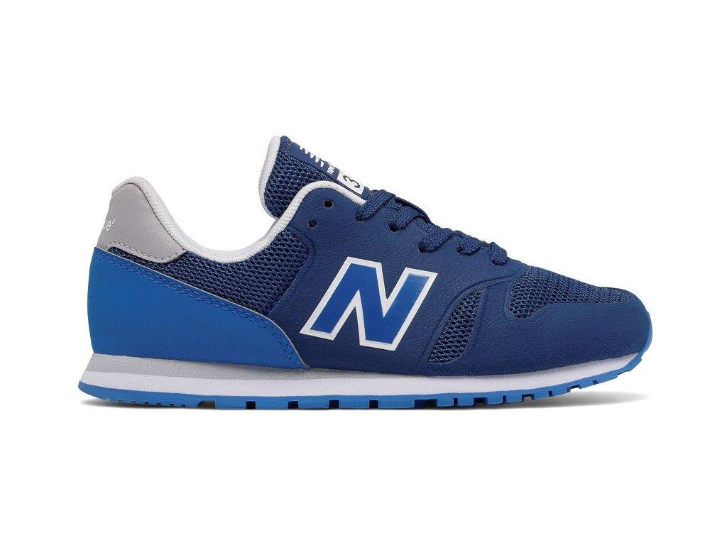 Dětská lifestylová obuv New Balance KD373 BRY modrá