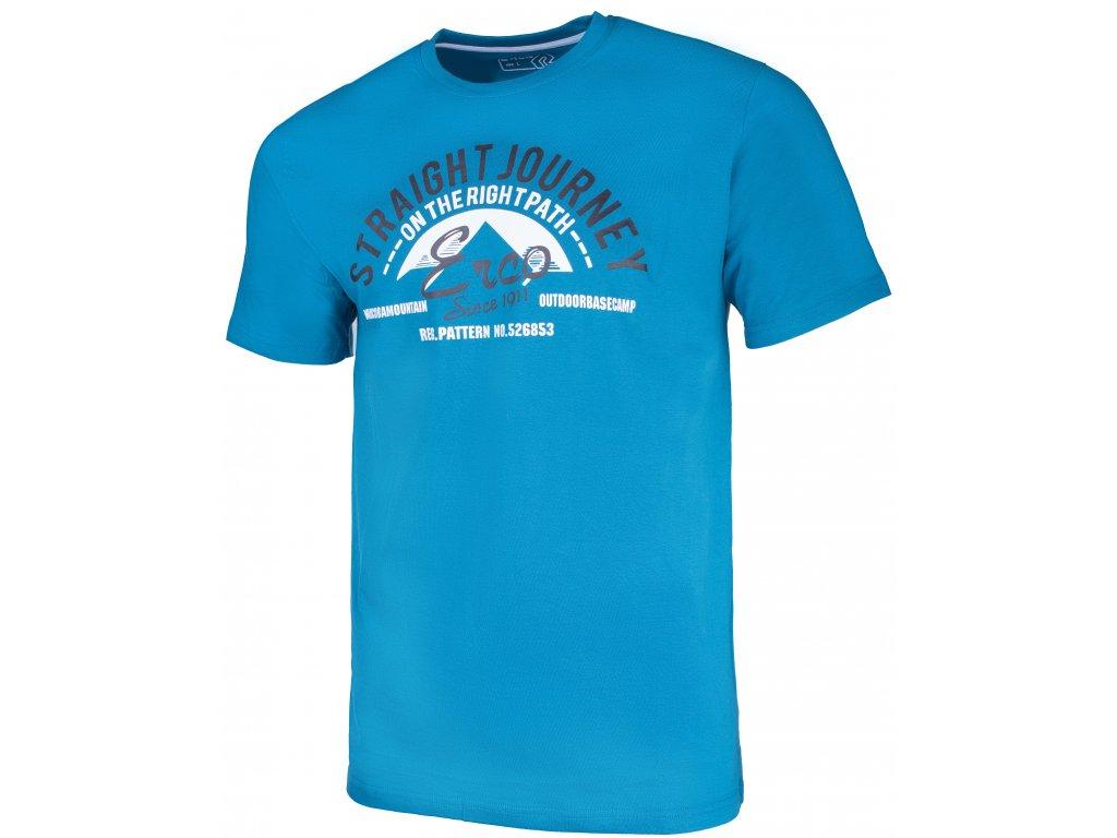 Pánské tričko ERCO GASTON BLU modrá