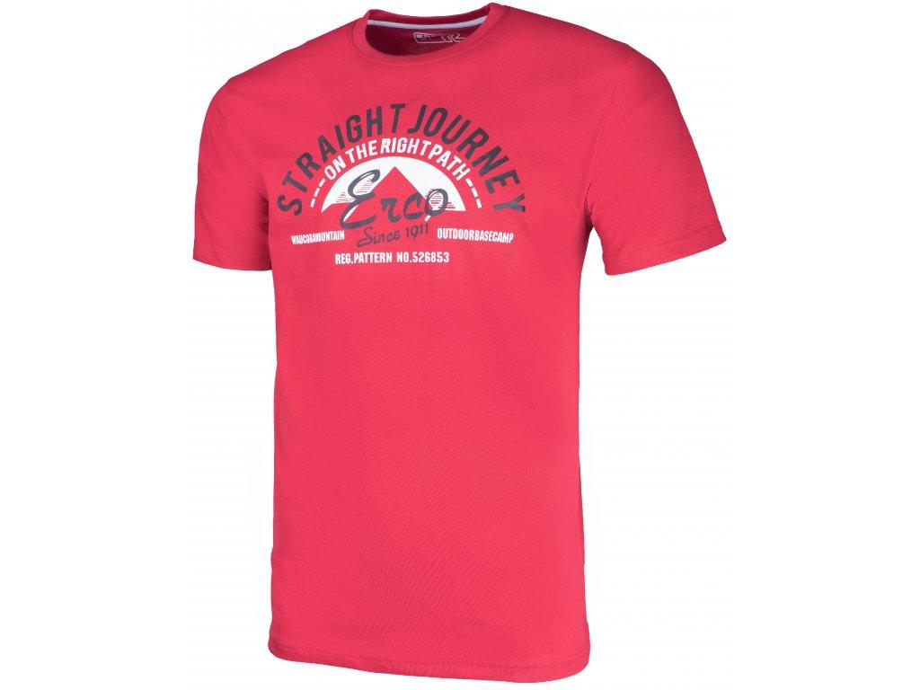 Pánské tričko ERCO GASTON RED červená