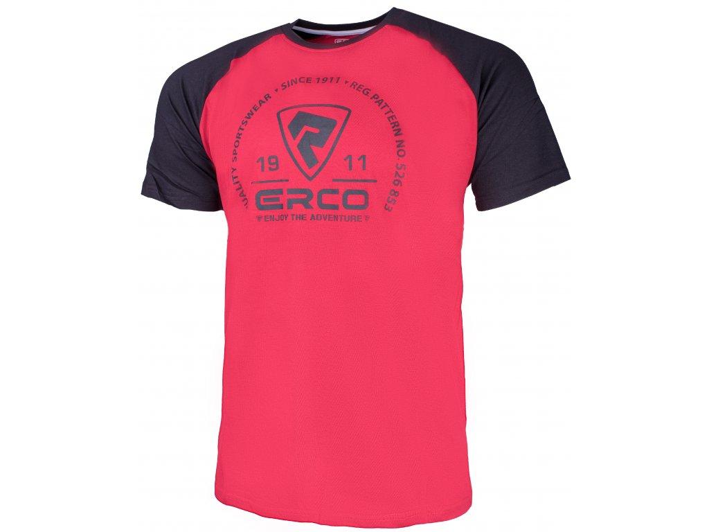 Pánské tričko Erco BARON RED červená