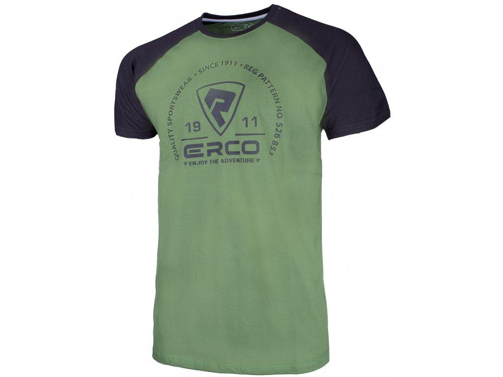 Pánské tričko Erco BARON GRN zelená