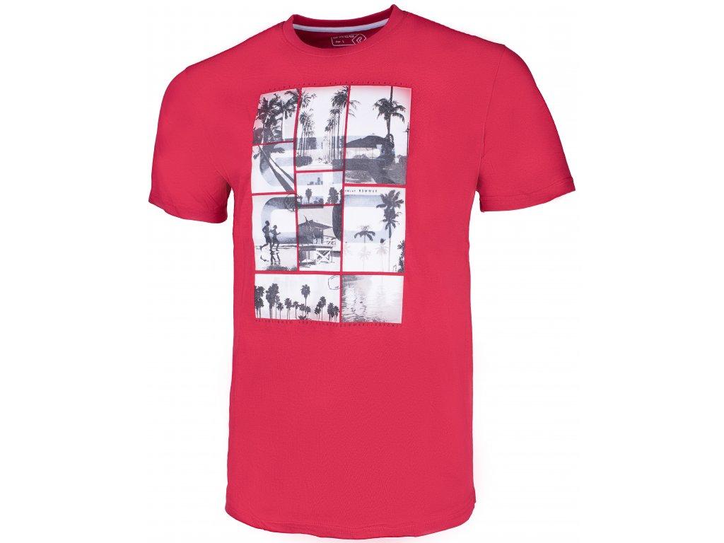 Pánské tričko ERCO CHICO RED červená