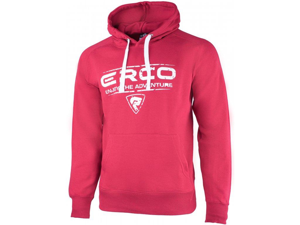 Pánská mikina ERCO RANDAL RED červená