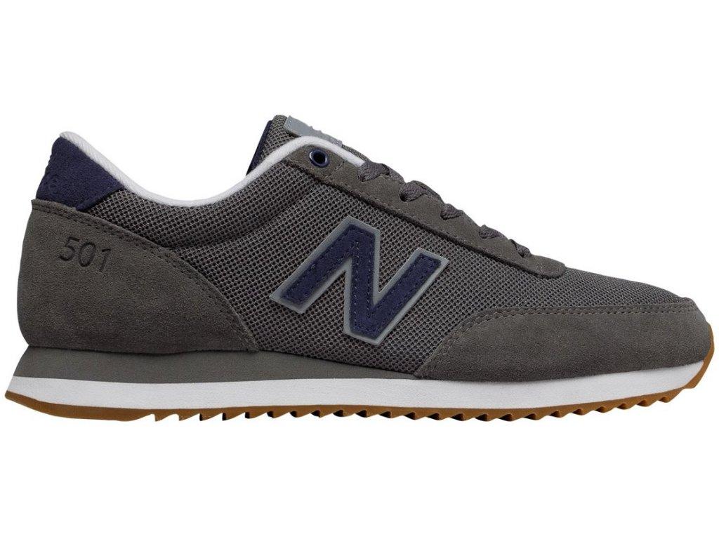Pánská lifestylová obuv New Balance MZ501 RPA šedá