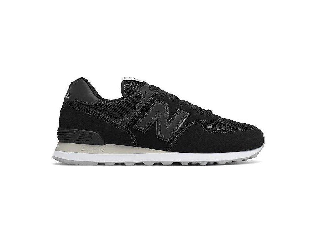 Pánská lifestylová obuv New Balance ML574 ETA černá