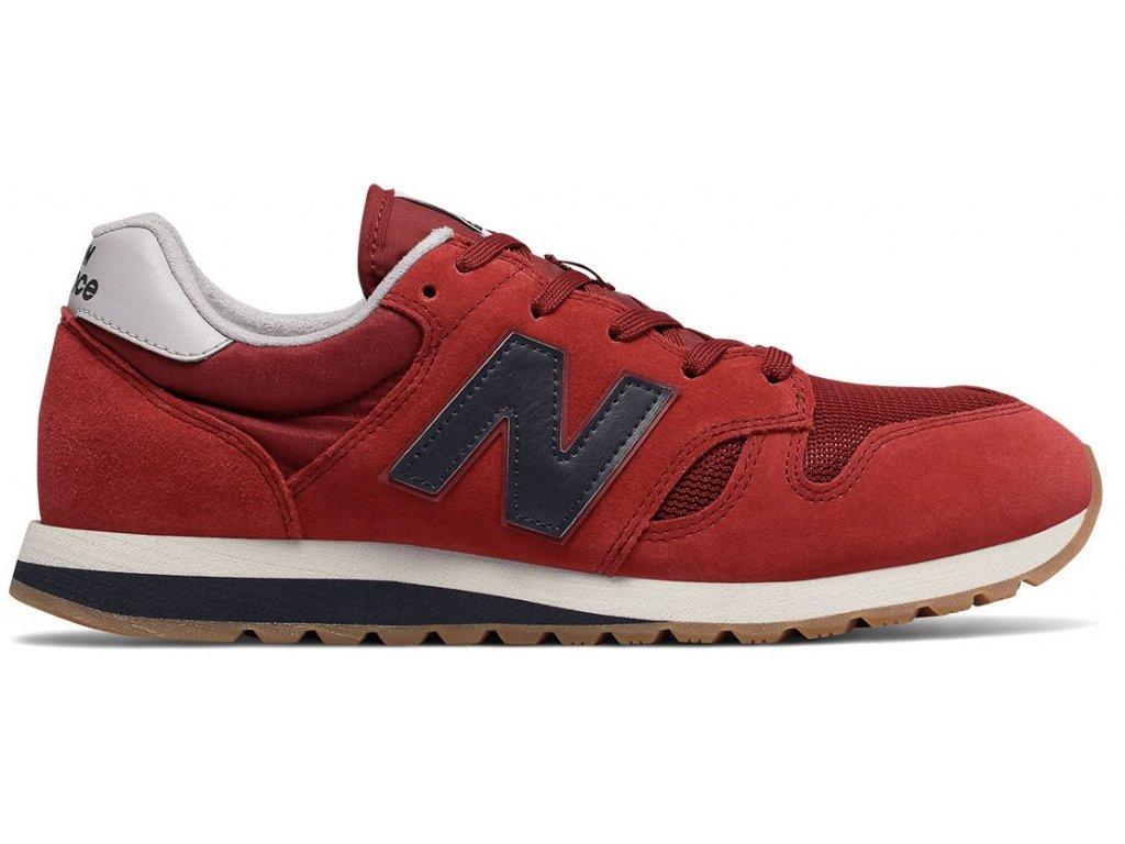 Unisex lifestylová obuv New Balance U520 EK červená