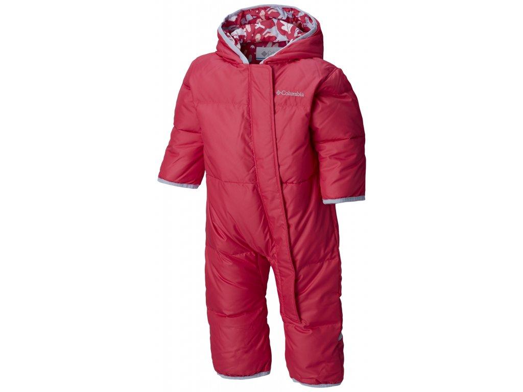 Dětská zimní kombinéza Columbia Snuggly Bunny Bunting 612 růžová