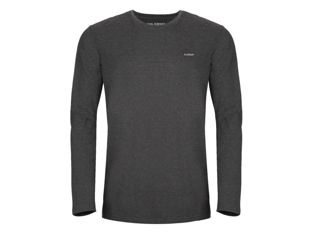 Pánské triko Loap BABOL V22X šedá