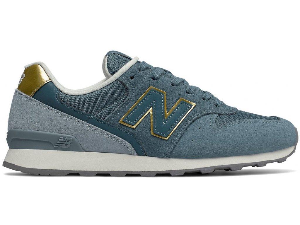 Dámská lifestylová obuv New Balance WR996 FLP modrá