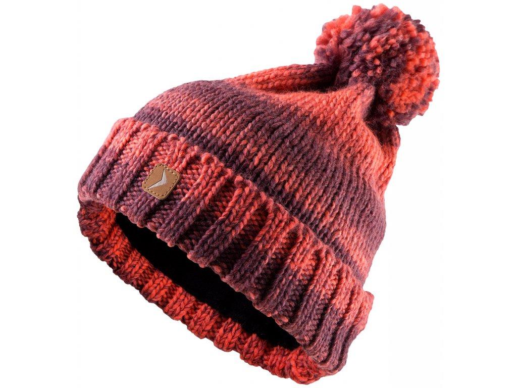 Dámská čepice Outhorn CAD606 Claret červená