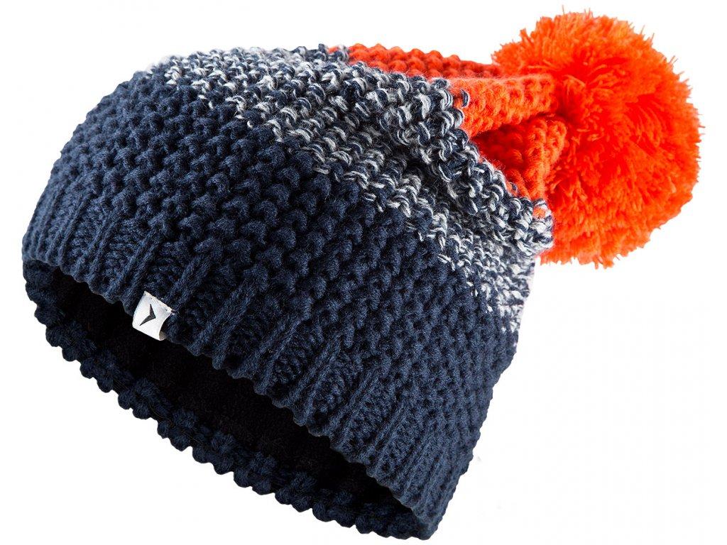Pánská čepice Outhorn CAM601 Graphite oranžová