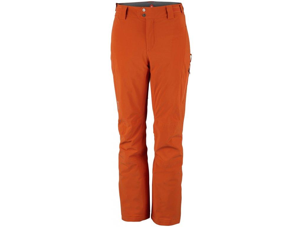 Pánské lyžařské kalhoty Columbia Snow Rival™ Pant 866 oranžová