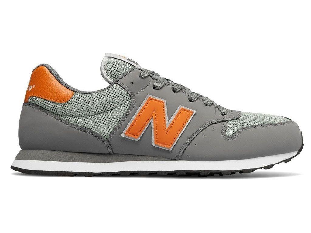 Pánská lifestylová obuv New Balance GM500 SCG šedá