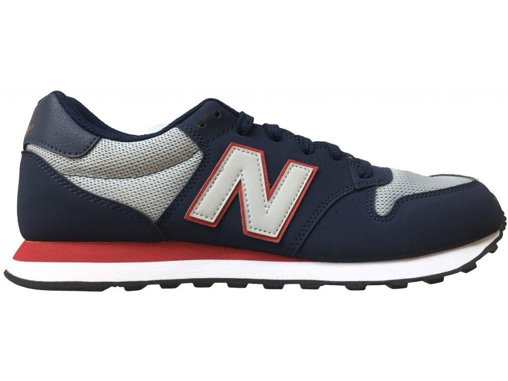 Pánská lifestylová obuv New Balance GM500 SGR modrá
