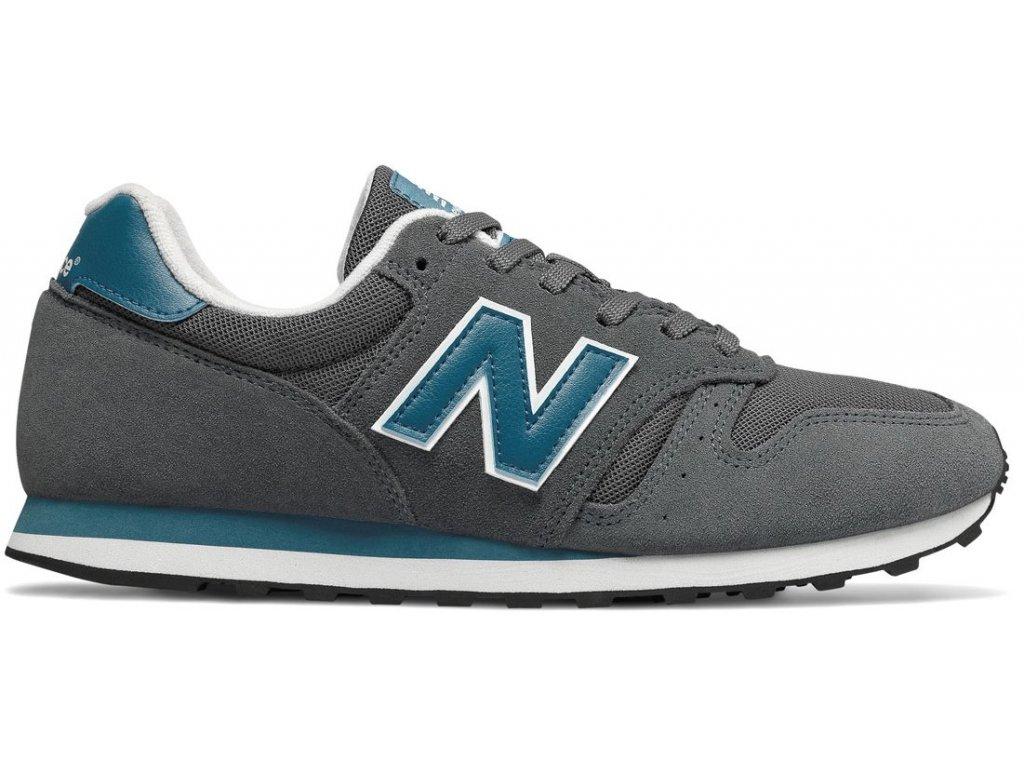 Pánská lifestylová obuv New Balance ML373 LBF šedá
