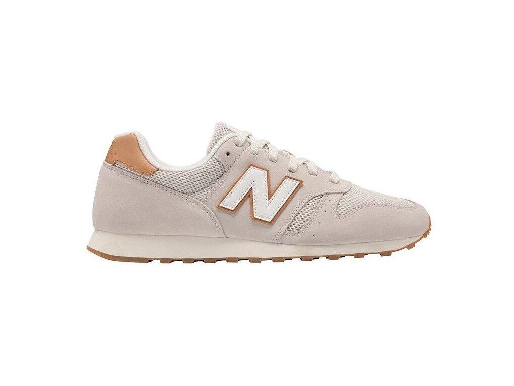 Pánská lifestylová obuv New Balance ML373 NBC béžová