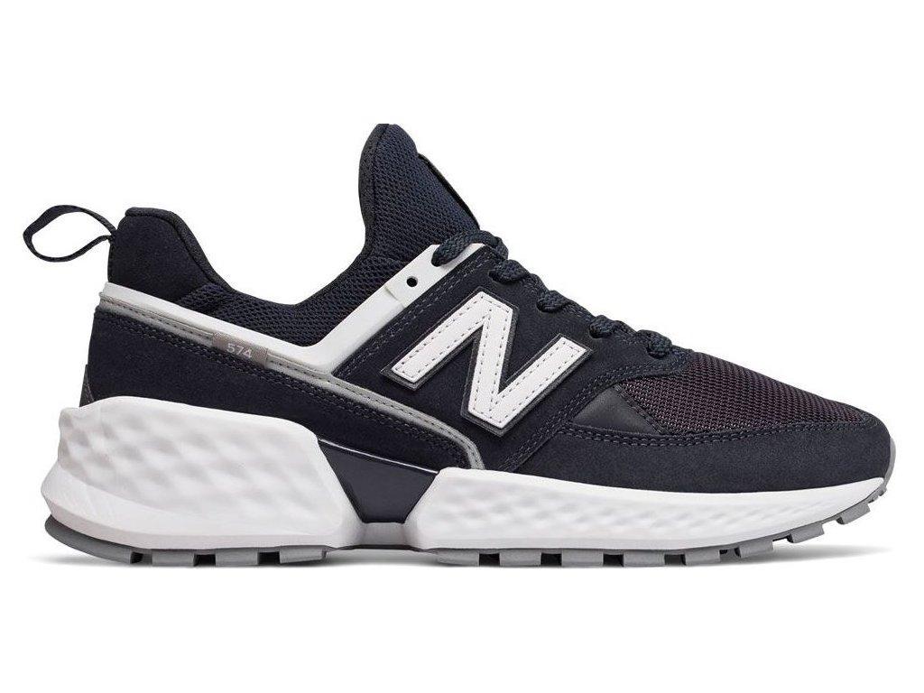 Pánská lifestylová obuv New Balance MS574 NSA modrá