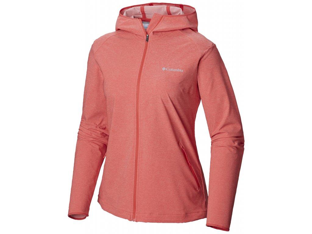 Dámská softshellová bunda Columbia Heather Canyon ™ softshell Jacket 633 oranžová