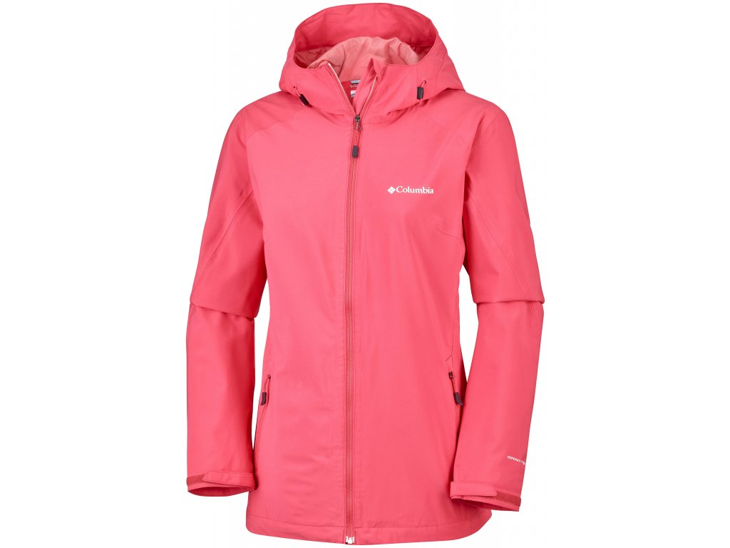 Dámská bunda Columbia Trek Light™ Stretch Jacket 633 červená
