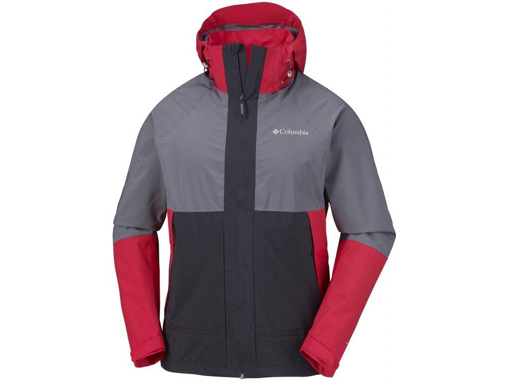 Pánská bunda Columbia Evolution Valley™ Jacket 613 červená